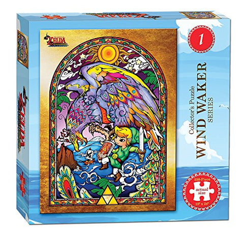 elda USAopoly The Legend of Zelda Wind Waker Collector's Puzzle Series #1: Game: Toys & Games - Gamersitemshop