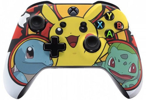 Pokemon Xbox One S/X Rapid Fire Custom Modded Controller 40 Mods for All Major Shooter Games WW2 Fortnite (with 3.5 jack) - Gamersitemshop