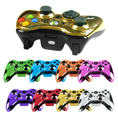 Soft Touch Custom Plated  Front Shell For Xbox One S Controller - New - Model 1708 - Gamersitemshop