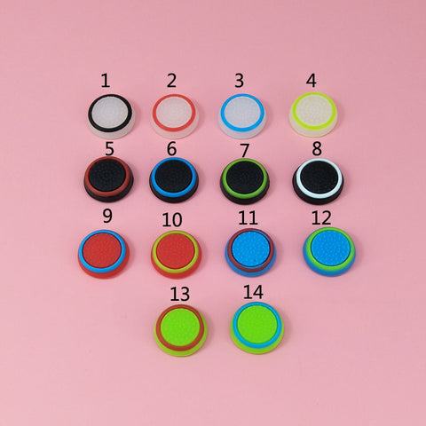 2pcs Silicone colorful Cap Thumb Stick - Gamersitemshop