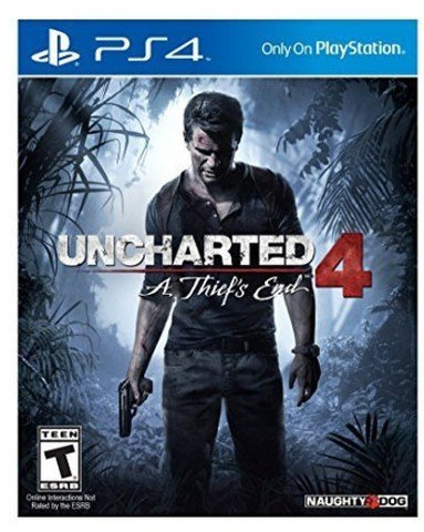 Uncharted 4: A Thief's End - PlayStation 4 - Gamersitemshop