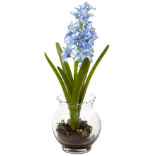 Load image into Gallery viewer, Hyacinth & Birds Nest w/Vase