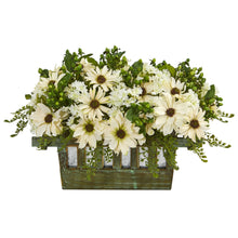 Load image into Gallery viewer, Daisy Artificial Arrangement in Decorative Planter
