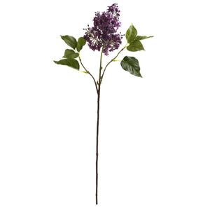 "30"" Lilac Artificial Flower (Set of 6) - Purple"