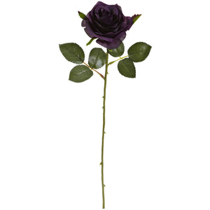 "18"" Rose Artificial Flower (Set of 24) - Purple Elegance"