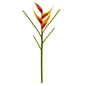 26'' Heliconia Artificial Flower (Set of 4)