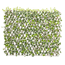 "Load image into Gallery viewer, 39"" English Ivy Expandable Fence UV Resistant & Waterproof"