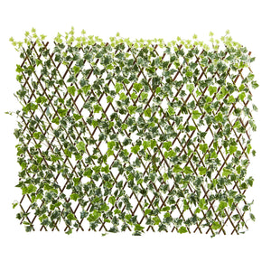 "39"" English Ivy Expandable Fence UV Resistant & Waterproof"