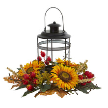 Load image into Gallery viewer, Sunflower Berry Artificial Arrangement Candelabrum