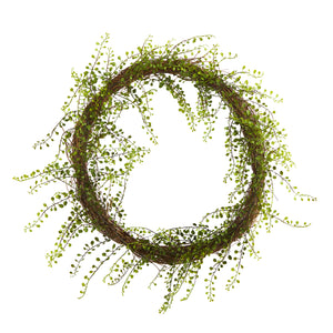 "20""  Night Willow Artificial Vine Wreath"