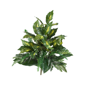 "25"" Mixed Greens Artificial Plant (Set of 2)"