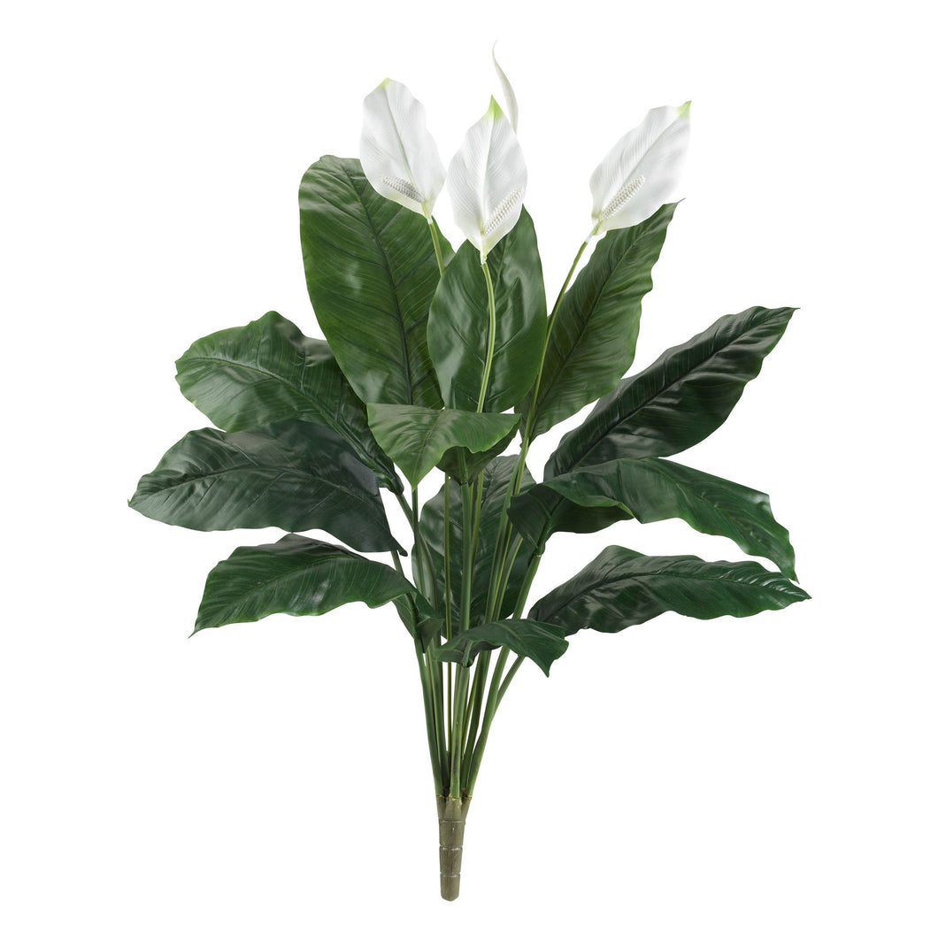 3.5' Spathifyllum Artificial Plant (Set of 2)
