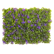"Load image into Gallery viewer, 6"" x 6"" Purple & Green Clover Mat (Set of 12)"