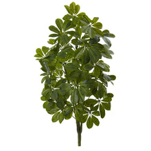 Load image into Gallery viewer, 32'' Green Baby Schefflera Artificial Plant (Real Touch) (Set of 2)
