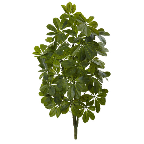 32'' Green Baby Schefflera Artificial Plant (Real Touch) (Set of 2)