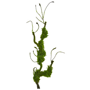 "25"" Moss Twig Vine Artificial Plant (Set of 4)"