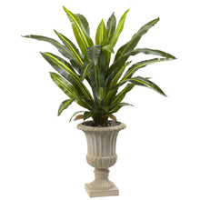Load image into Gallery viewer, 5' Dracaena Plant with Urn (Real Touch)