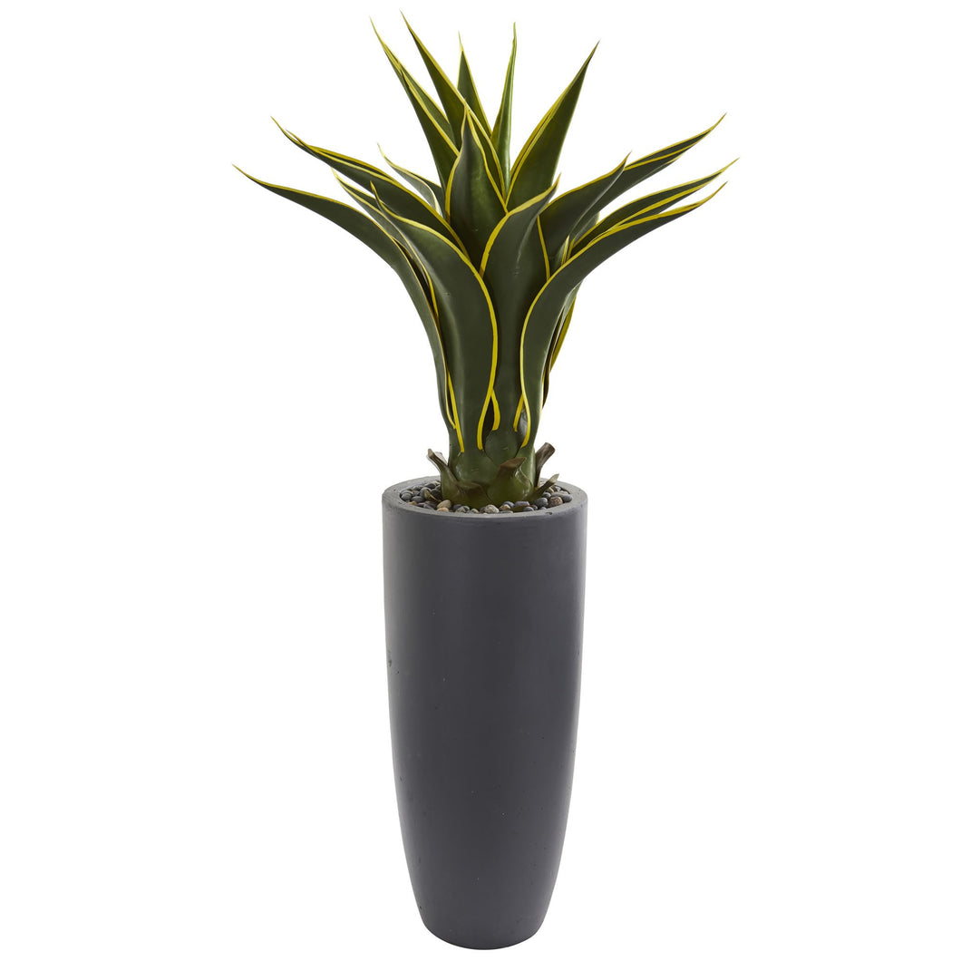 Agave Artificial Plant in Bullet Planter