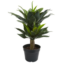 "Load image into Gallery viewer, 29"" Double Agave Succulent Artificial Plant"