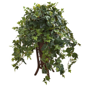 Ivy Artificial Plant in Stand Planter