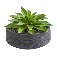 Load image into Gallery viewer, Large Succulent Artificial Plant in Decorative Bowl