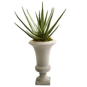 "29"" Aloe Artificial Plant in Urn"