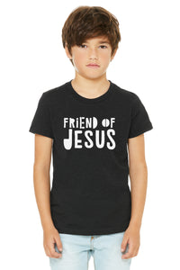 (PRE-ORDER) Friend Of Jesus™️ T-Shirt | Black Heather