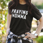 (PRE-ORDER) Praying Momma® T-Shirt | Black