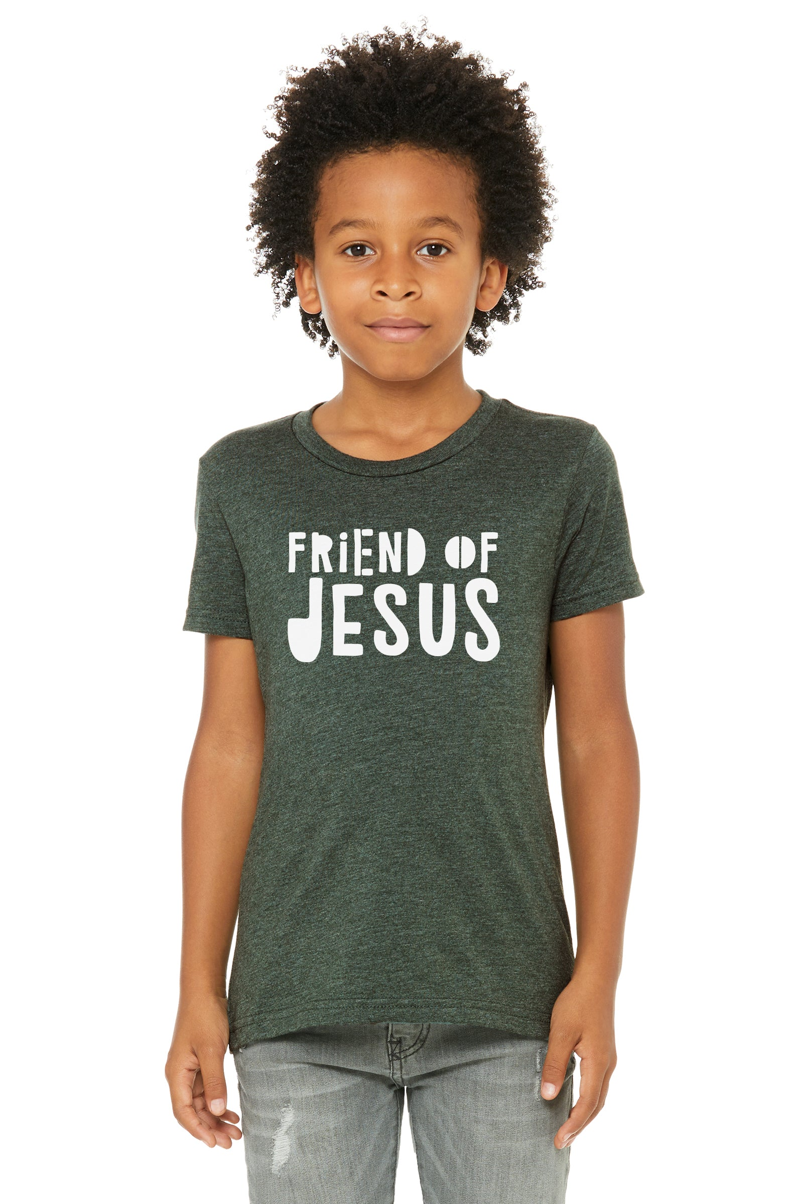 (PRE-ORDER) Friend Of Jesus™️ T-Shirt | Heather Forest