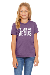 (PRE-ORDER) Friend Of Jesus™️ T-Shirt | Heather Purple