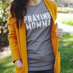 (PRE-ORDER) Praying Momma® T-Shirt | Storm