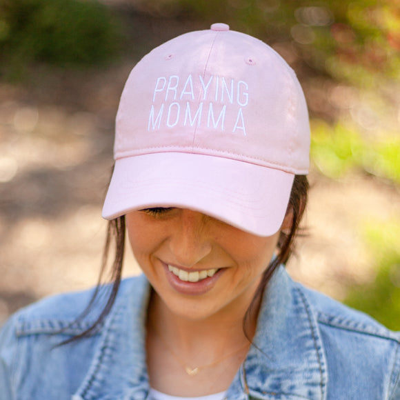 (PRE-ORDER) Praying Momma™️ Hat | Pink