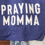 (PRE-ORDER) Praying Momma® T-Shirt | Navy