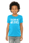 (PRE-ORDER) Friend Of Jesus™️ T-Shirt | Neon Blue