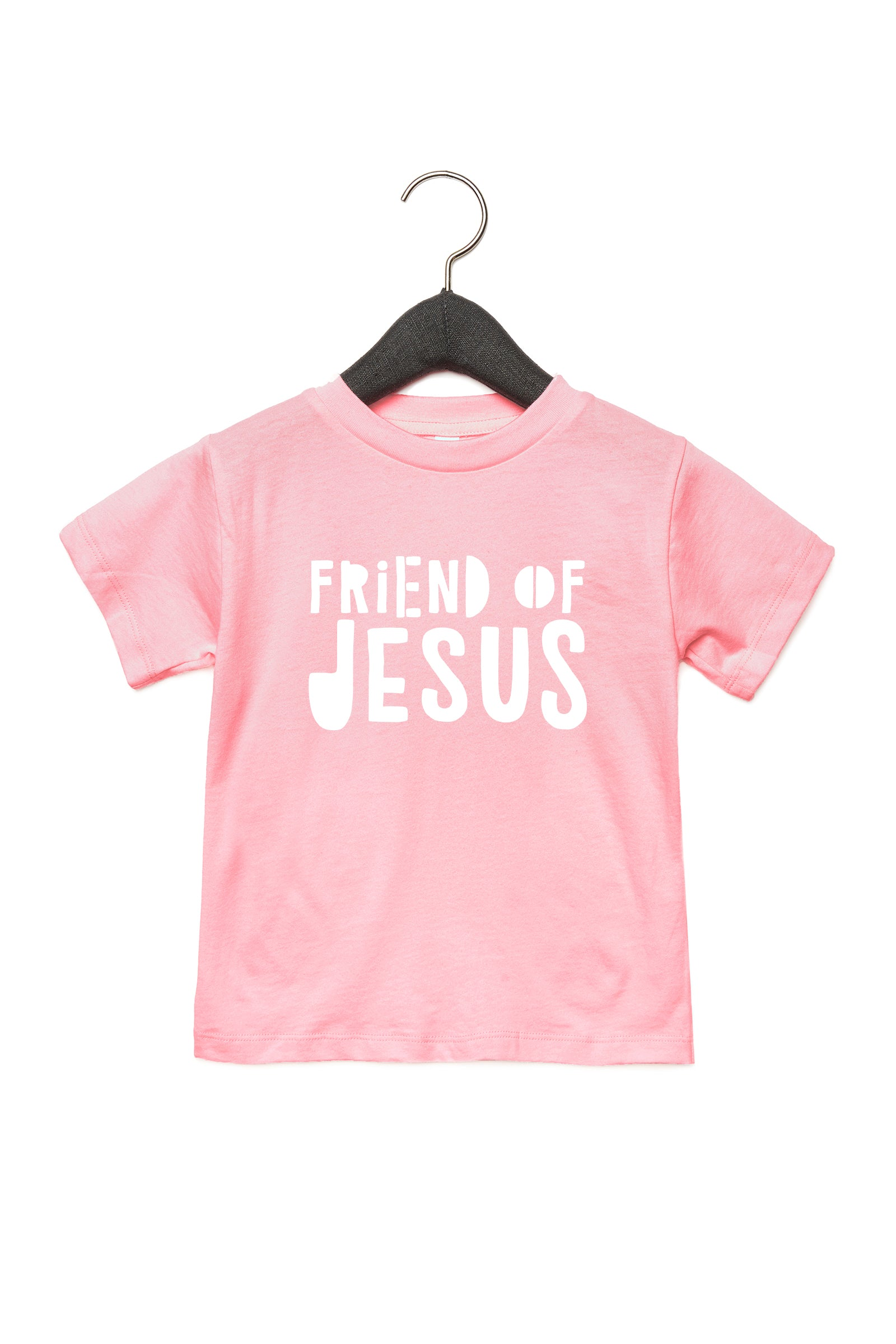(PRE-ORDER) Friend of Jesus™️ Toddler T-Shirt | Pink