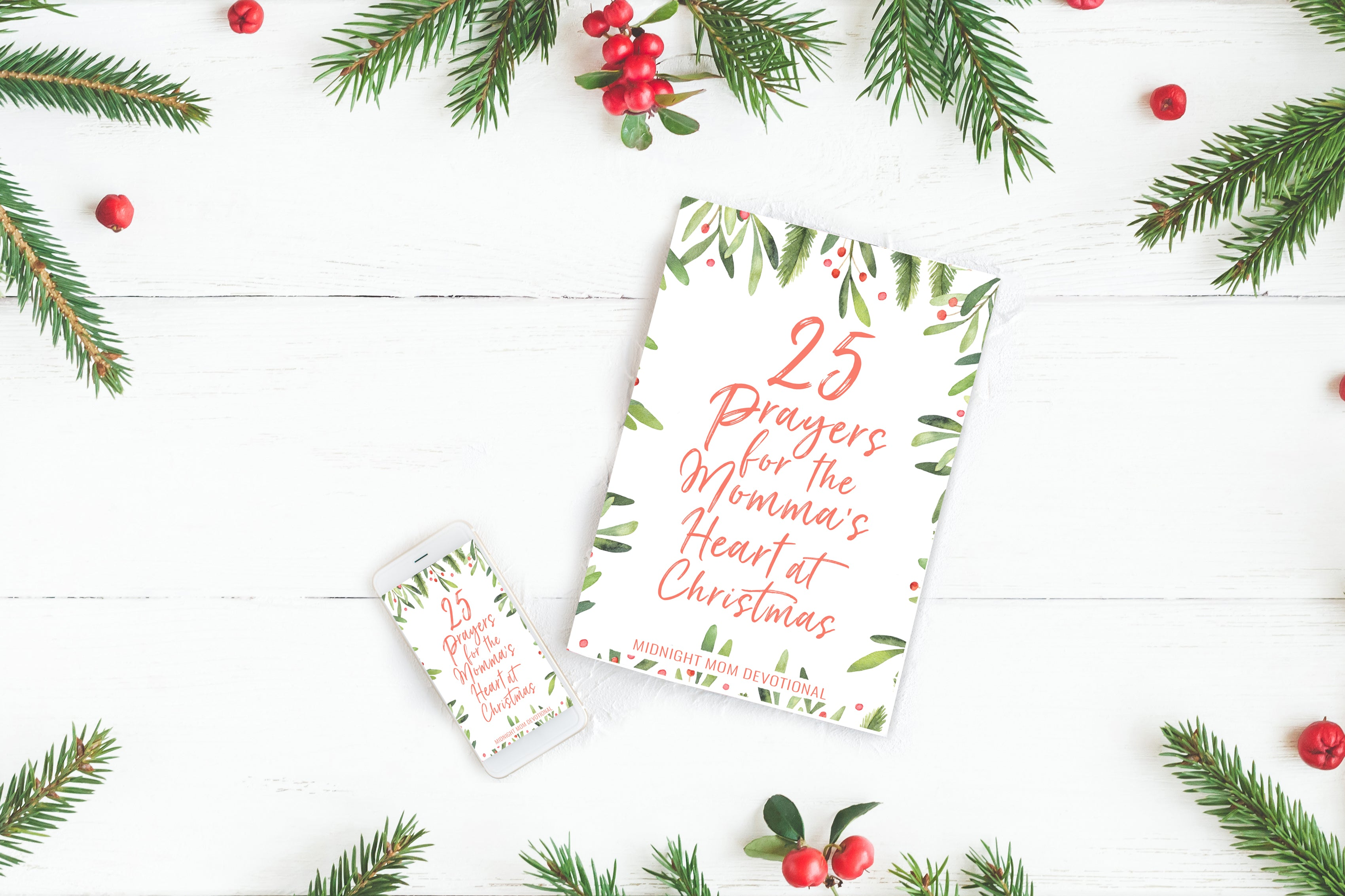 25 Prayers for the Momma's Heart at Christmas - Printables