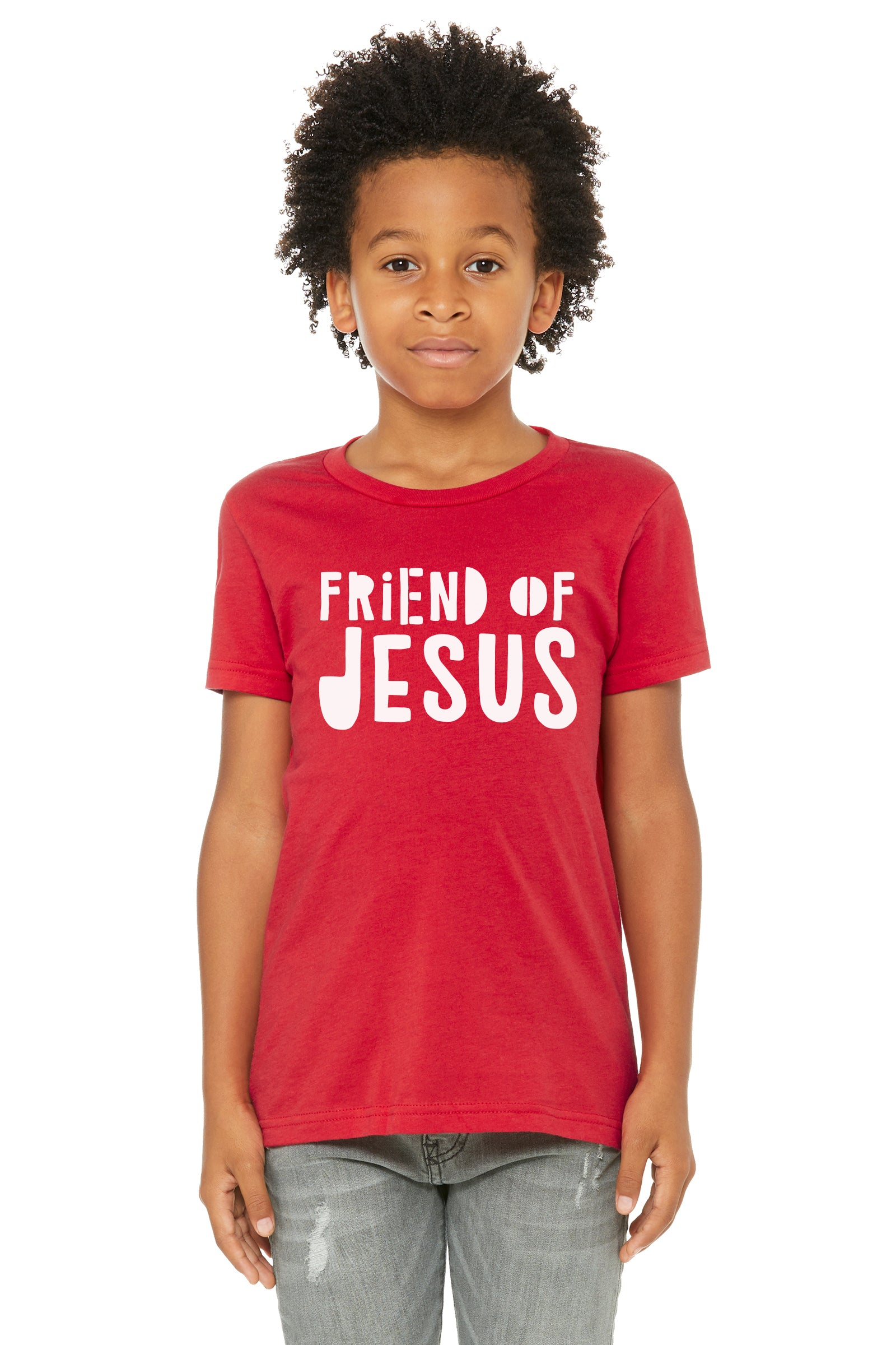 (PRE-ORDER) Friend Of Jesus™️ T-Shirt | Red