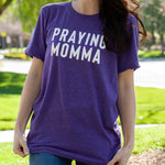 (PRE-ORDER) Praying Momma® T-Shirt | Purple