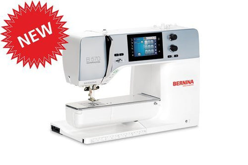 Bernina S-570QE With BSR