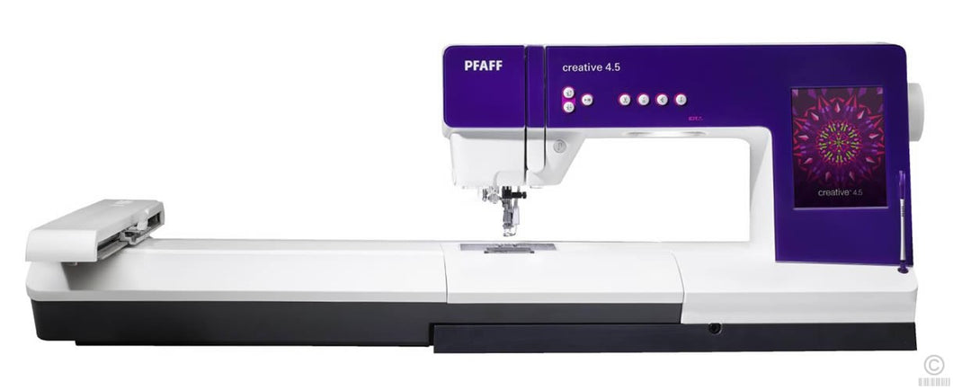 Pfaff Creative 4.5 (IDT) With Embroidery Module