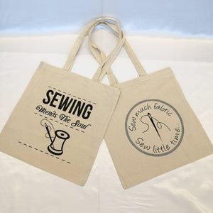 Sewing Shopper Bags
