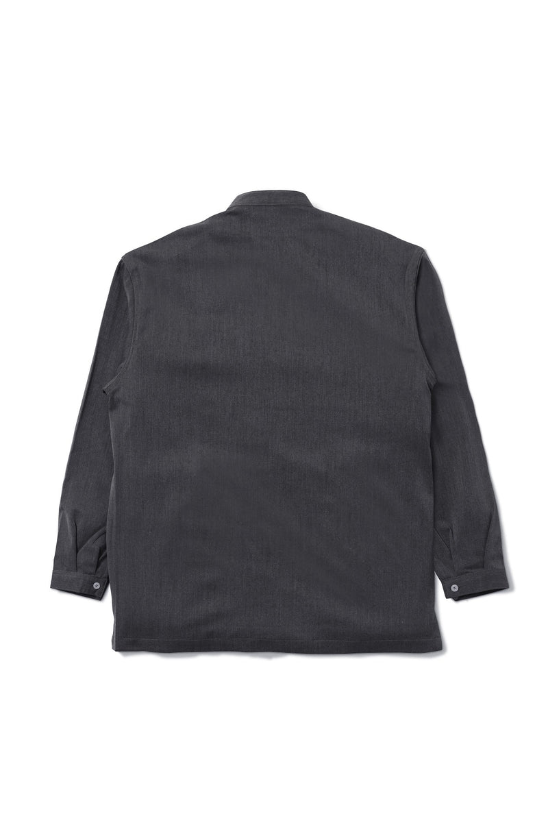 Tripoli Long Sleeve Black Shirt (1722337394723)