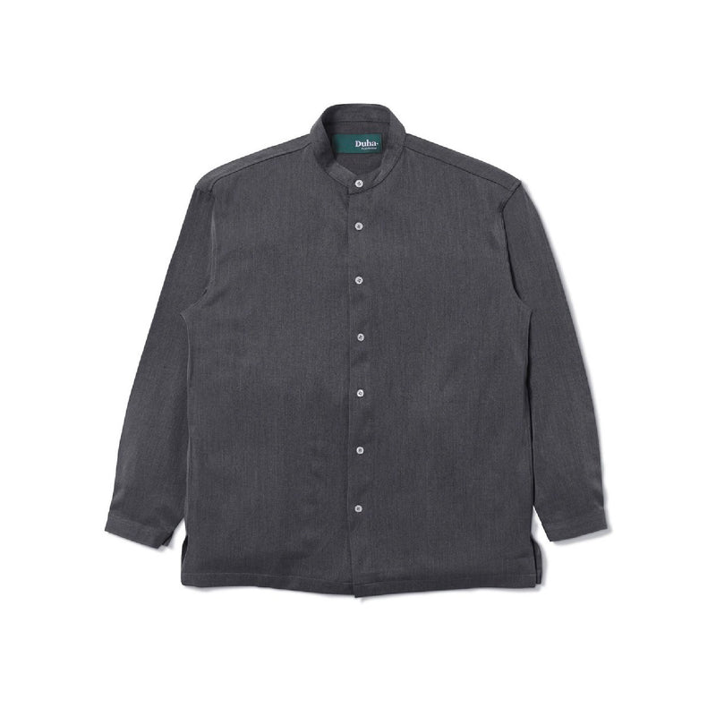 Tripoli Long Sleeve Black Shirt