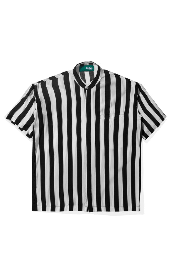 Rushd Black Stripes Shirt (4165175705635)