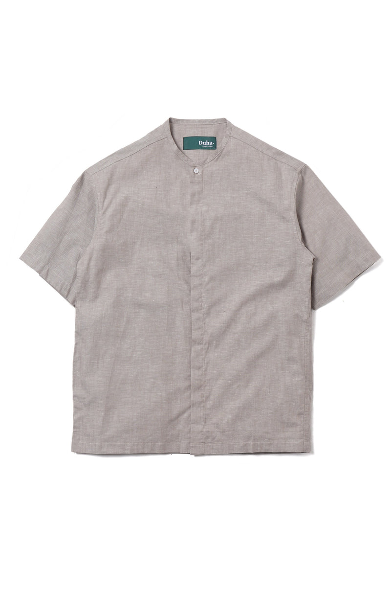 Cairo Plain Grey Shirt (1701054185507)