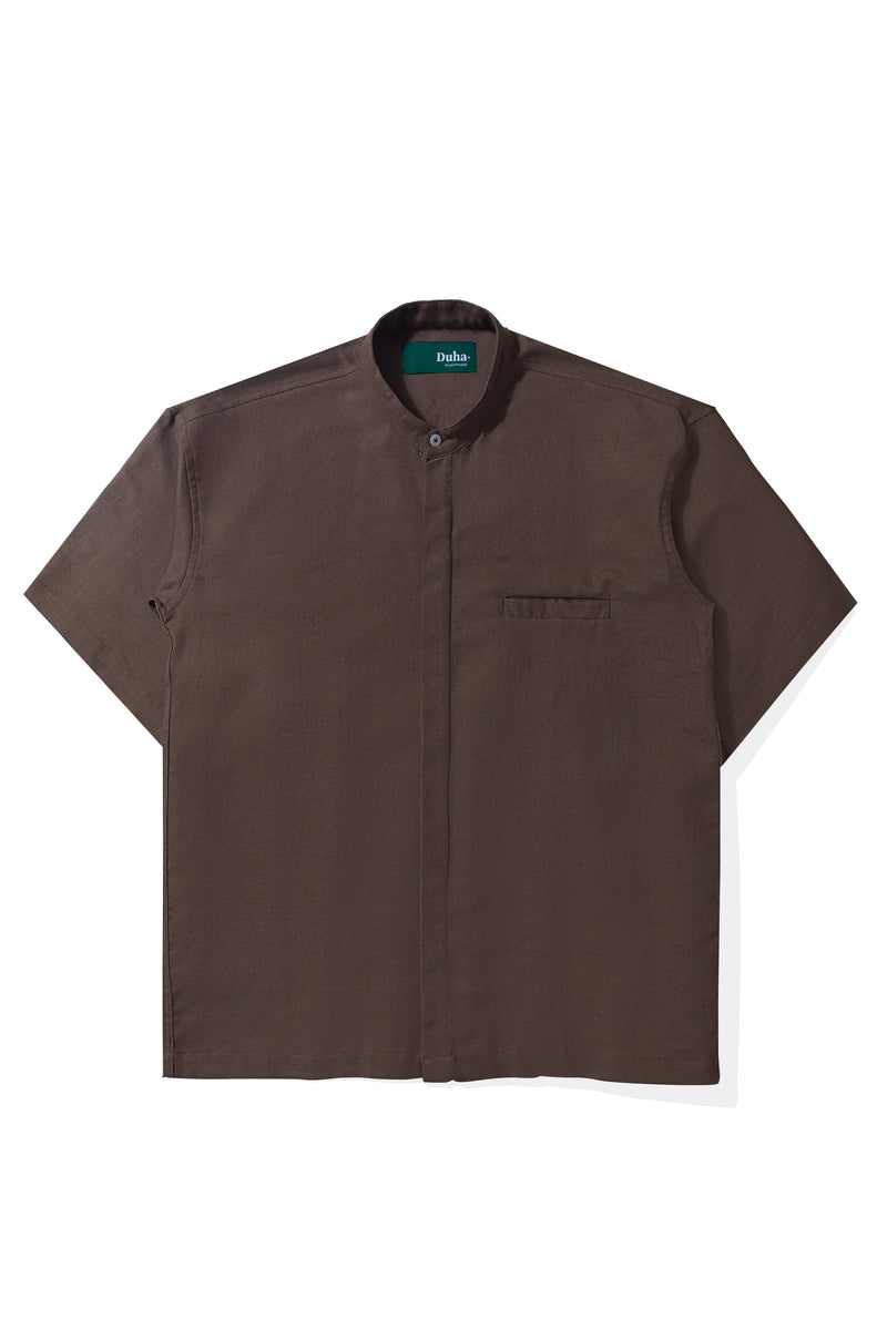 Rushd Brown Shirt