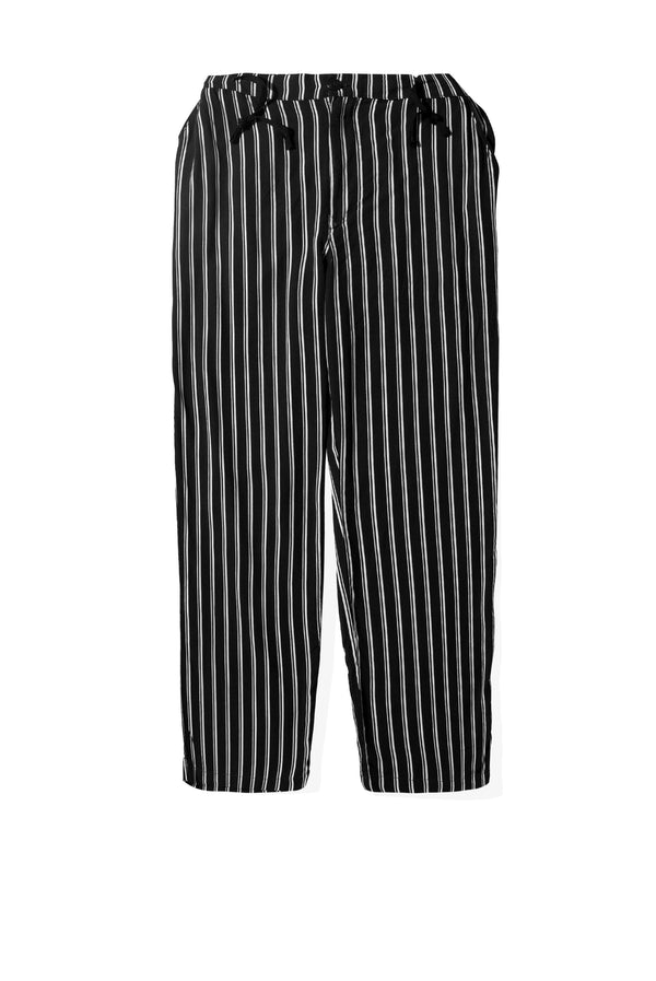 Ghazzali Black White Stripes Pants