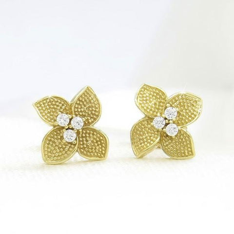 Boucles PETALES D'OR