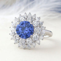 Bague TANZANITE ROYALE