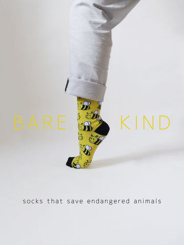 Bare Kind Save the Bees Poster